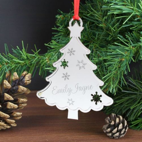 Personalised Any Name Christmas Tree Decoration